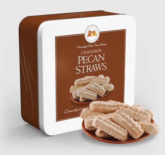 Cinnamon Pecan Straws™ 10 oz. Gift Tin #825