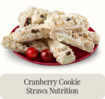 Cranberry Cookie Straws
