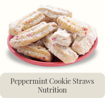 Peppermint Cookie Straws