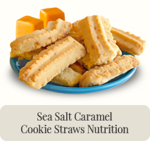 Sea Salt Caramel Cookie Straws