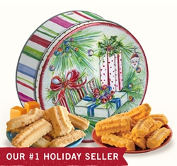 Gail Pittman 16 oz. Holiday Gift Tin