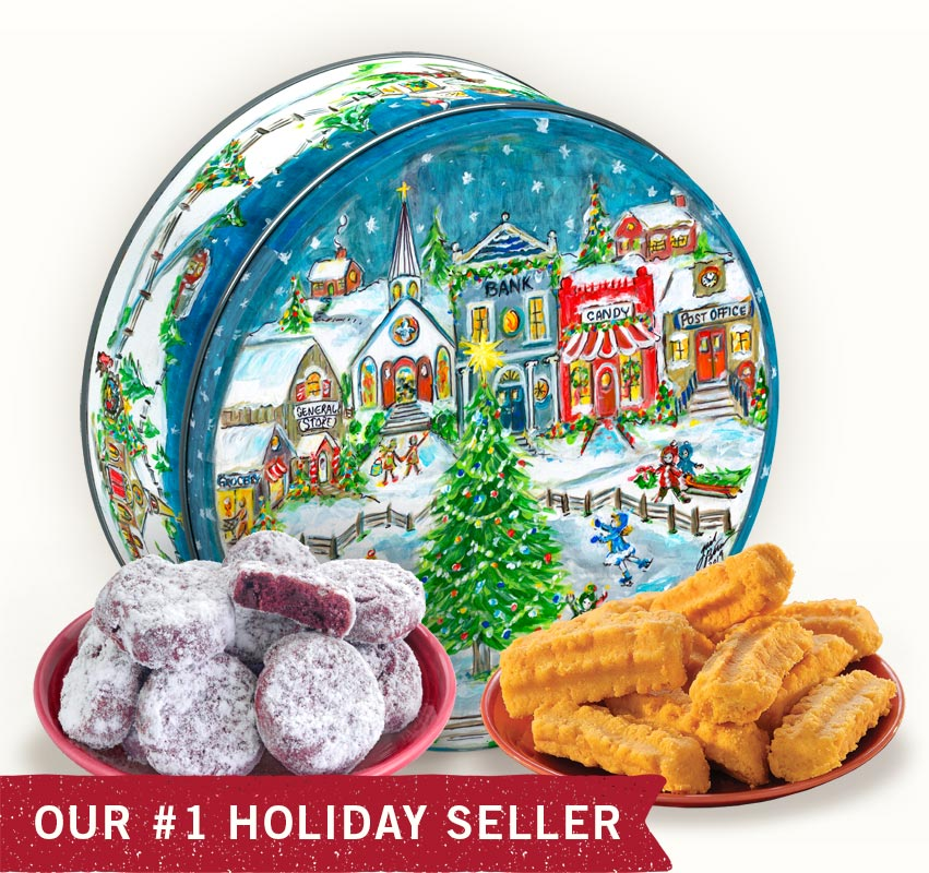 Gail Pittman 2019 Holiday Gift Tin