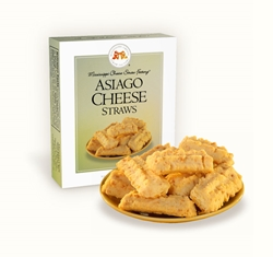 Asiago Cheese Straws 1 oz. Single