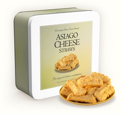 Asiago Cheese Straws 10 oz. Gift Tin