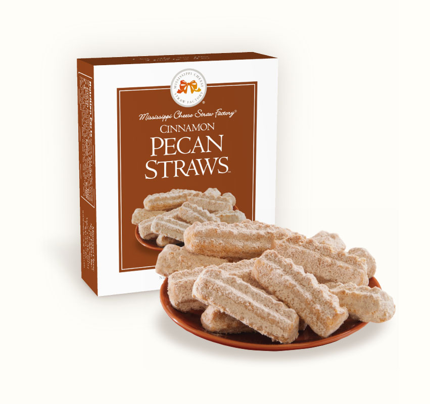 Cinnamon Pecan Straws 1 oz. Single