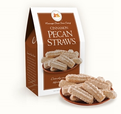 Cinnamon Pecan Straws 6.5 oz. Carton