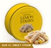 Original Lemon Straws 16 oz Gift Tin