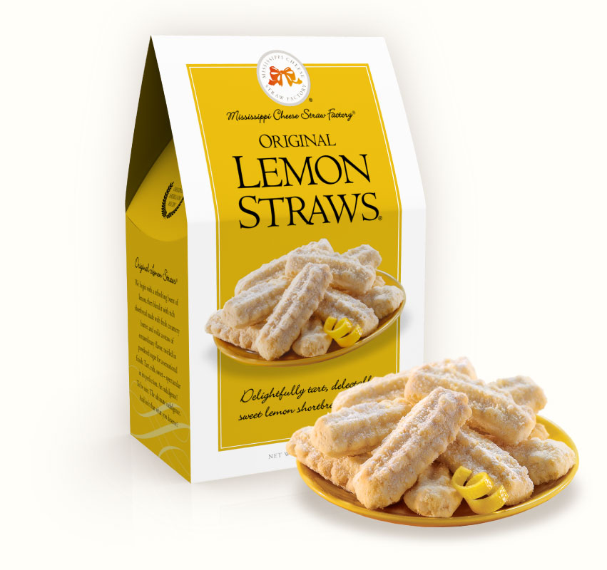 Original Lemon Straws 6.5 oz