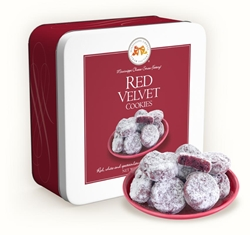 Red Velvet Cookies 10 oz. Gift Tin