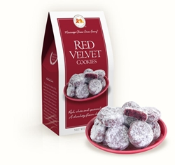 Red Velvet Cookies 3.5 oz. Carton