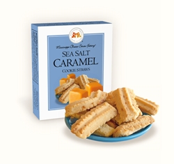Sea Salt Caramel Cookie Straws 1 oz. Single