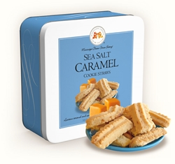 Sea Salt Caramel Cookie Straws 10 oz. Gift Tin