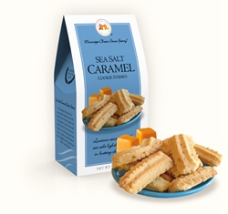 Sea Salt Caramel Cookie Straws 3.5 oz. Carton