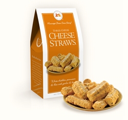 Three Cheese Cheese Straws 3.5 oz. Carton