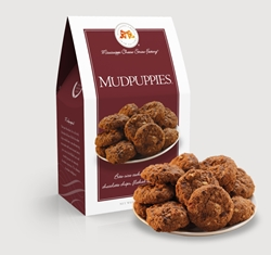Mudpuppies® 5.5 oz. Carton chocolate, chip, cookie, oats, pecans, sweet, dessert, 5.5, ounce, medium, gift, carton, Mississippi, Factory